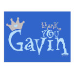 Cree - a Gavin para requisitos particulares Tarjetas Postales