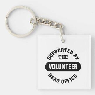 Cree a su propio equipo voluntario único llaveros