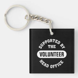 Cree a su propio equipo voluntario único llavero