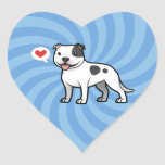 Cree a su propio mascota colcomanias corazon