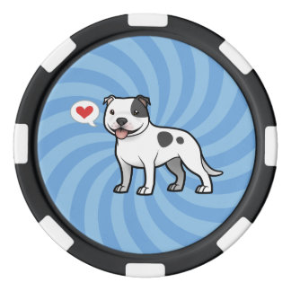 Cree a su propio mascota juego de fichas de póquer