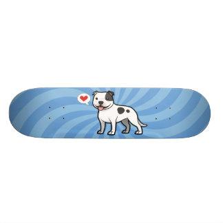Cree a su propio mascota tabla de patinar
