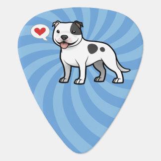 Cree a su propio mascota uñeta de guitarra