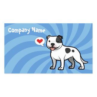 Cree a su propio mascota tarjetas de visita