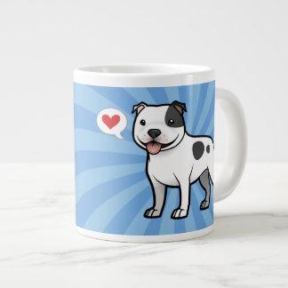 Cree a su propio mascota taza grande