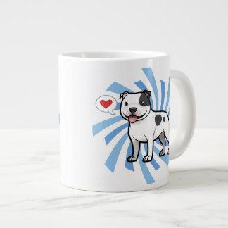 Cree a su propio mascota taza extra grande