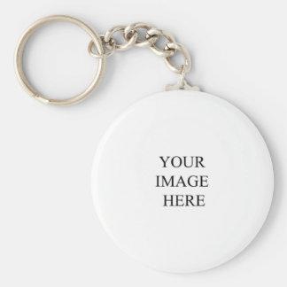 Cree con su propia imagen llavero redondo tipo pin