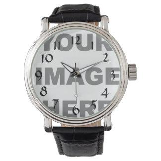 Cree/diseño su propio reloj de encargo
