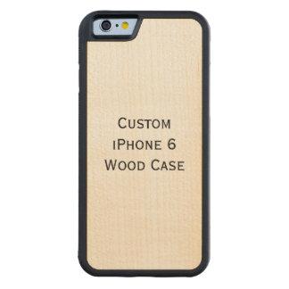 Cree el caso de madera del iPhone 6 de encargo