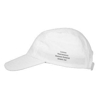 Cree el casquillo corriente del gorra de los gorra de alto rendimiento