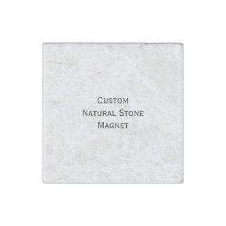 Cree el imán de piedra natural de encargo del