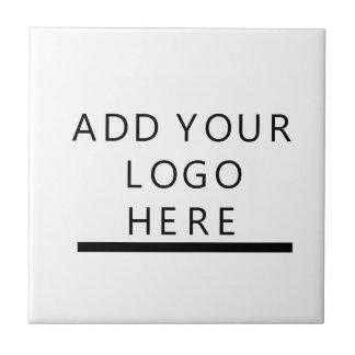 Cree el logotipo para requisitos particulares azulejo cuadrado pequeño