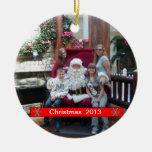 Cree el ornamento del día de fiesta del navidad ornamentos de reyes magos