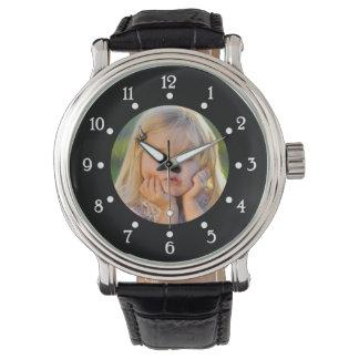 Cree el reloj con la foto (puesta cualquier foto