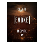 CREE. EVOQUE. INSPIRE. Poster