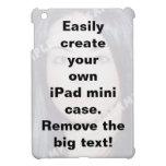 Cree fácilmente su mini caso de encargo del iPad