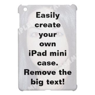 Cree fácilmente su mini caso de encargo del iPad iPad Mini Cárcasa