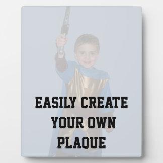 Cree fácilmente su propia placa - vertical - DIY