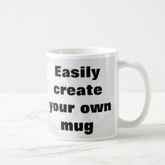 ¡Cree fácilmente su propia taza quitan el texto gr