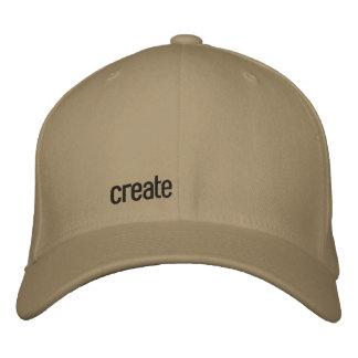 cree gorra bordada