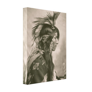 Cree Indian Canvas Print