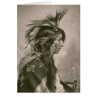 Cree Indian Card