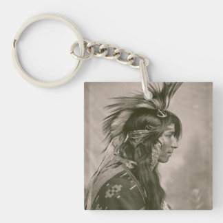 Cree Indian Keychain