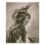 Cree Indian Photographic Print