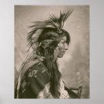 Cree Indian Print