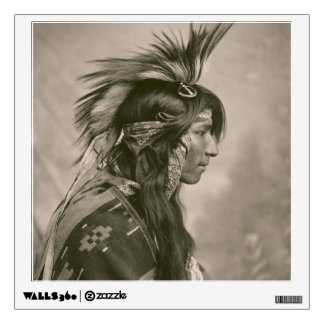 Cree Indian Wall Decal