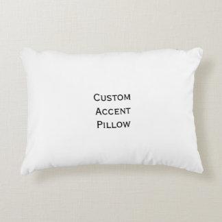 Cree la almohada de encargo del acento de la