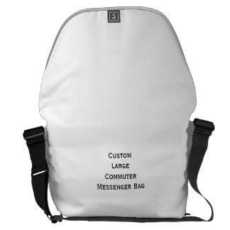 Cree la bolsa de mensajero grande de encargo del bolsa de mensajeria