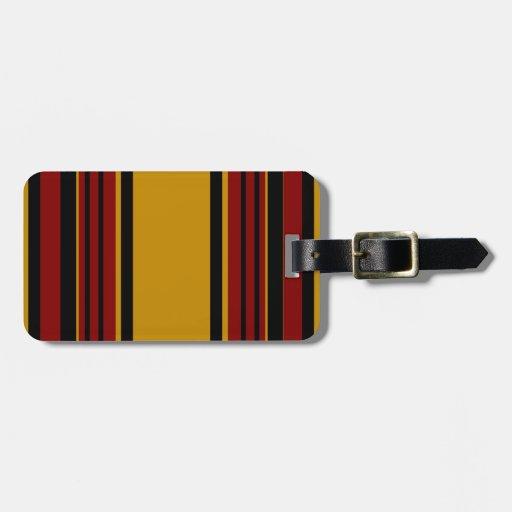 Cree la etiqueta del equipaje para requisitos part etiquetas para equipaje