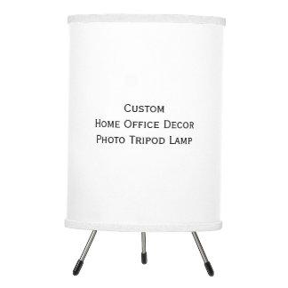 Cree la lámpara de encargo de la foto del trípode
