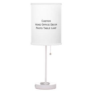 Cree la lámpara de mesa de encargo de la foto de