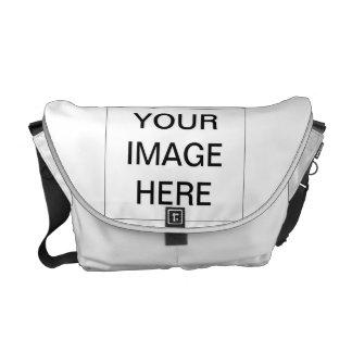 Cree la su propia bolsa de mensajero bolsas de mensajería