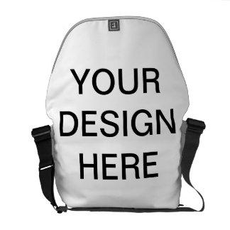 Cree la su propia bolsa de mensajero del carrito bolsa de mensajería