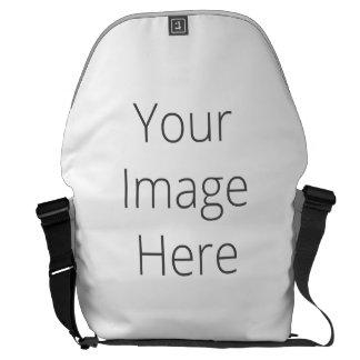 Cree la su propia bolsa de mensajero grande bolsas messenger