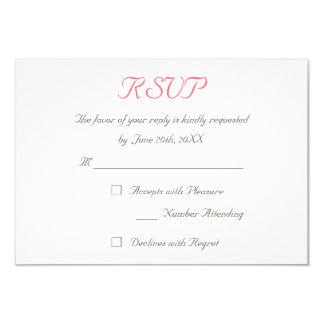 Cree la tarjeta elegante de encargo de la invitacion personal