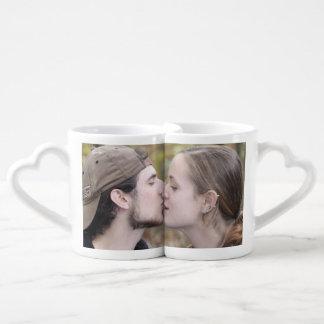 Cree la taza de su propio amante de encargo tazas para enamorados