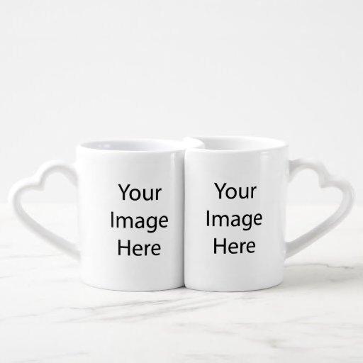 Cree la taza de su propio amante taza para parejas