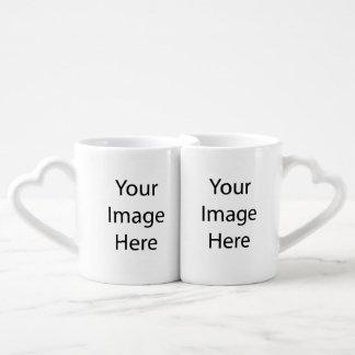 Cree la taza de su propio amante tazas para enamorados
