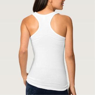 Cree las camisetas sin mangas para mujer de