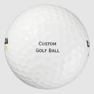 Cree las pelotas de golf personalizadas pack de pelotas de golf