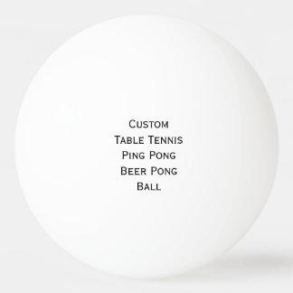 Cree los tenis de mesa de encargo/la cerveza/la pelota de tenis de mesa