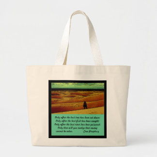 Cree Prophecy Canvas Bags