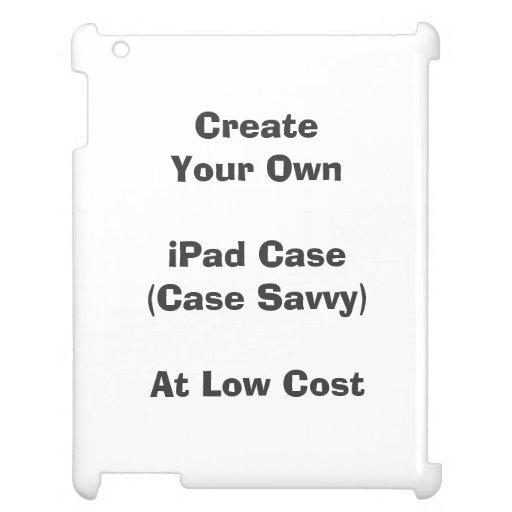 Cree su caso del iPad (la comprensión del caso)