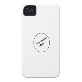Cree su de una caja buena de la zarzamora iPhone 4 funda