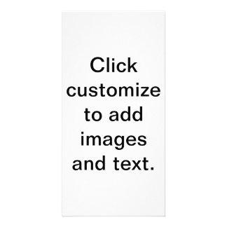 Cree su muy poseen la tarjeta de la foto tarjetas fotograficas