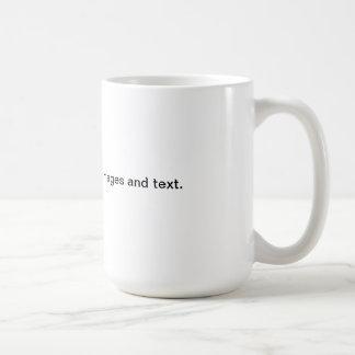 Cree su muy poseen la taza